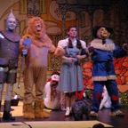 Tinman Lion Dorothy and Scarecrow